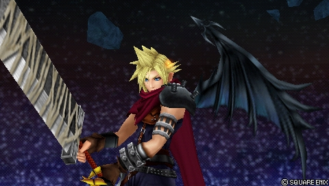 dissidia 012 duodecim final fantasy cloud kingdom hearts costume
